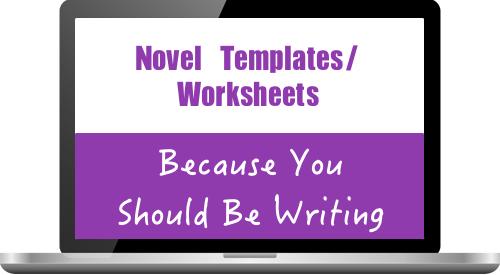 novel outline worksheet